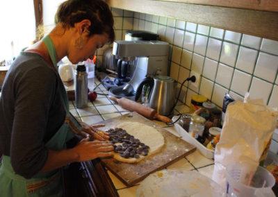 Réalisation scone au chocolat